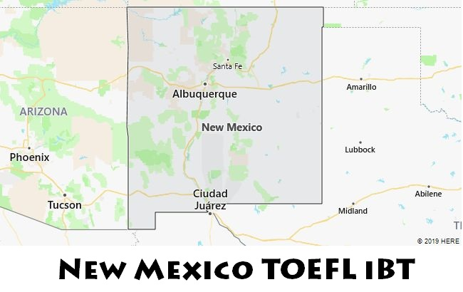 New Mexico TOEFL iBT