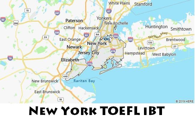 New York TOEFL iBT