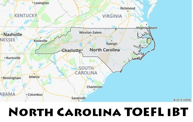 North Carolina TOEFL iBT
