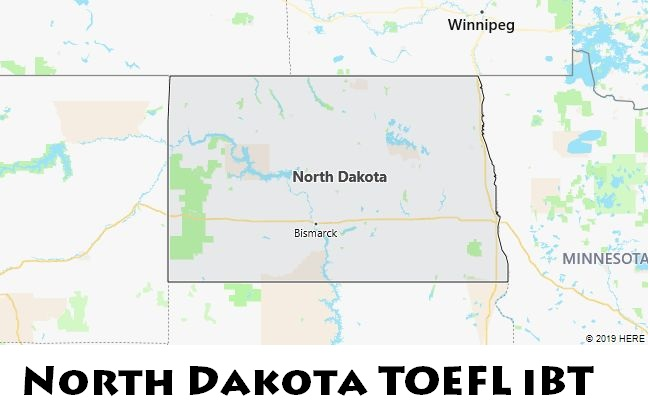 North Dakota TOEFL iBT
