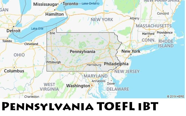 Pennsylvania TOEFL iBT