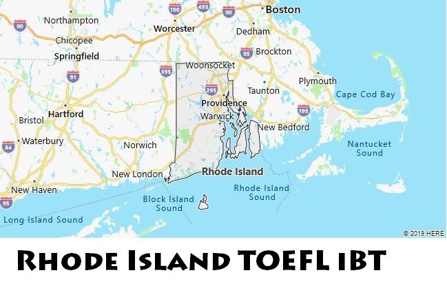 Rhode Island TOEFL iBT