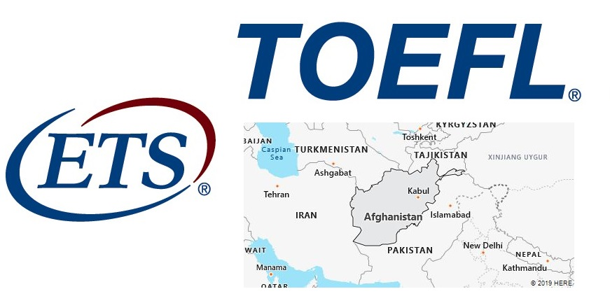 TOEFL Test Centers in Afghanistan