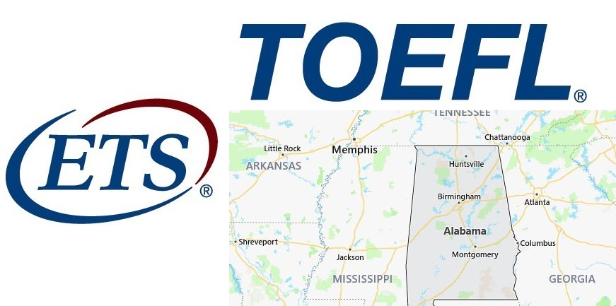 TOEFL Test Centers in Alabama