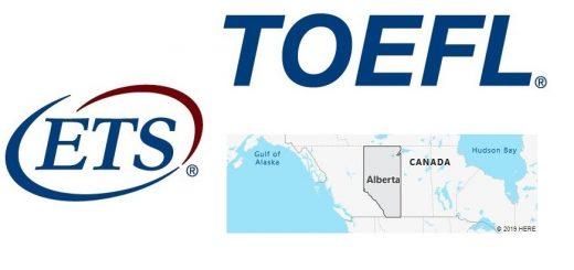 TOEFL Test Centers in Alberta, Canada