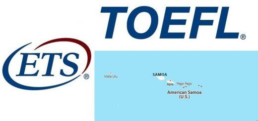 TOEFL Test Centers in American Samoa
