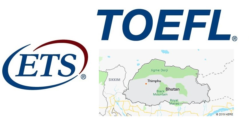 TOEFL Test Centers in Bhutan