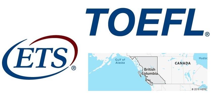 TOEFL Test Centers in British Columbia, Canada