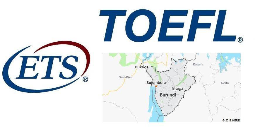 TOEFL Test Centers in Burundi