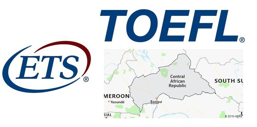 TOEFL Test Centers in Central African Republic