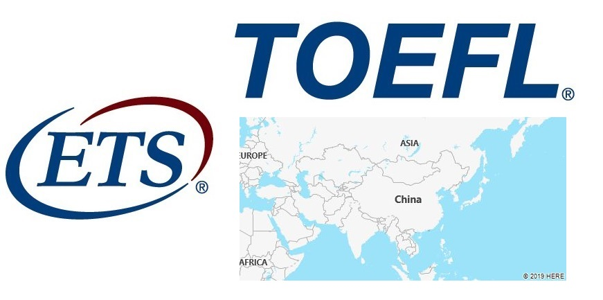 TOEFL Test Centers in China
