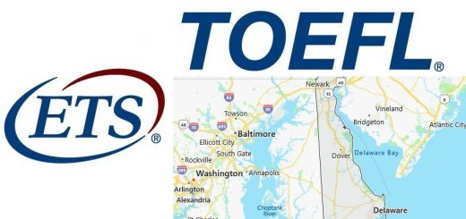 TOEFL Test Centers in Delaware