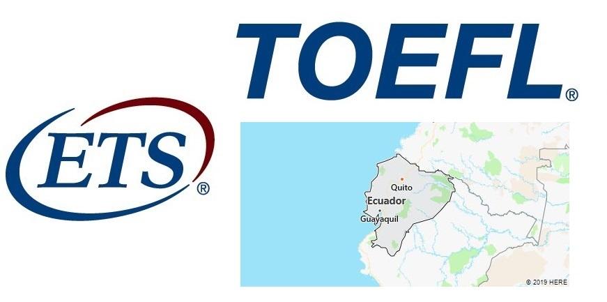TOEFL Test Centers in Ecuador
