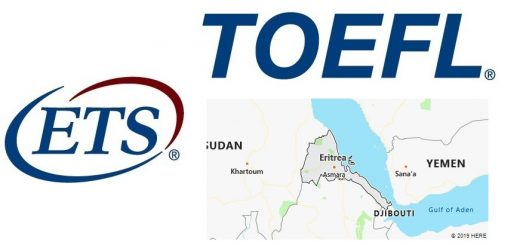 TOEFL Test Centers in Eritrea