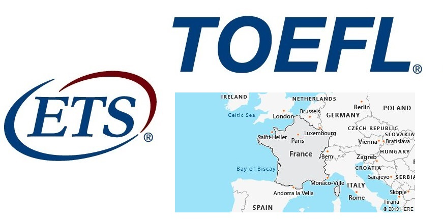 TOEFL Test Centers in France
