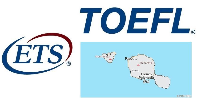 TOEFL Test Centers in French Polynesia