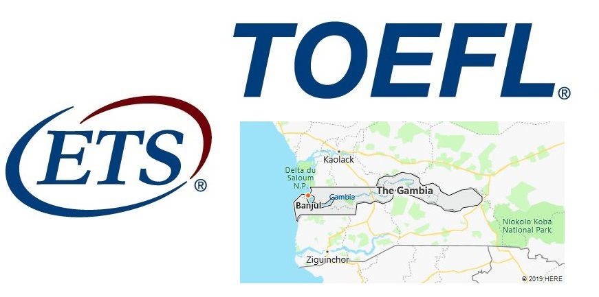 TOEFL Test Centers in Gambia