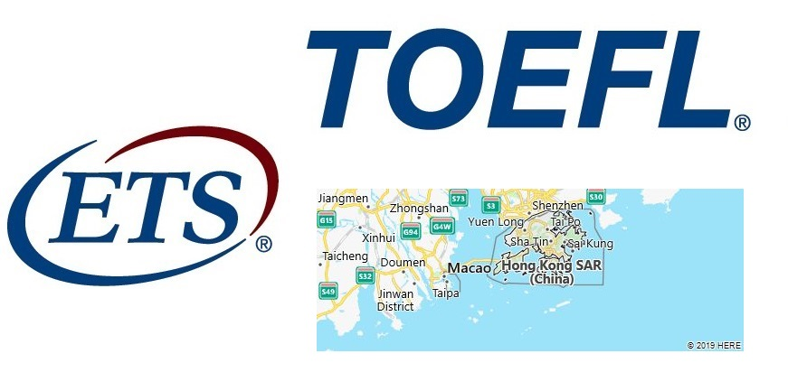 TOEFL Test Centers in Hong Kong, China