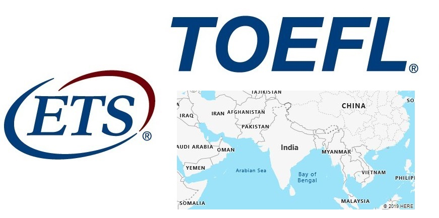 TOEFL Test Centers in India