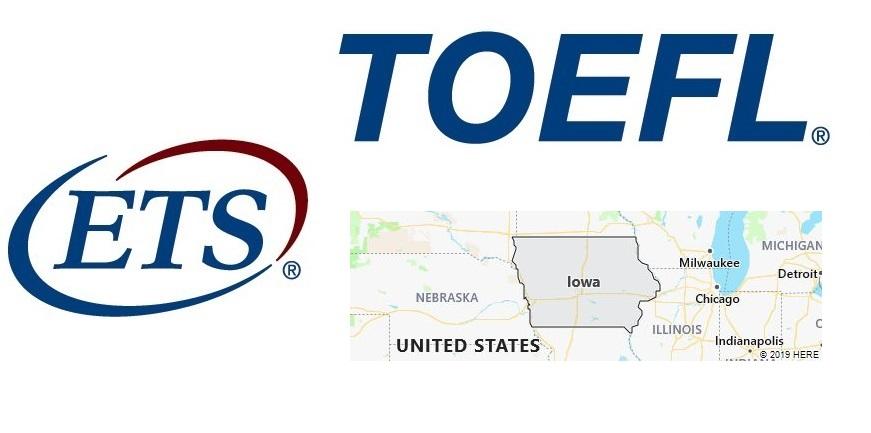 TOEFL Test Centers in Iowa
