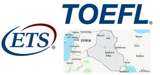 TOEFL Test Centers in Iraq