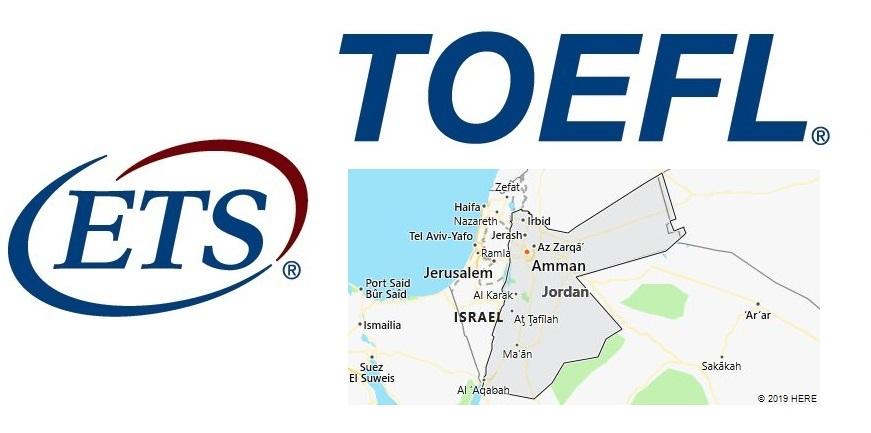 TOEFL Test Centers in Jordan
