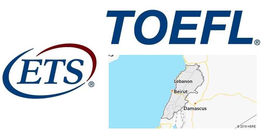 TOEFL Test Centers in Lebanon