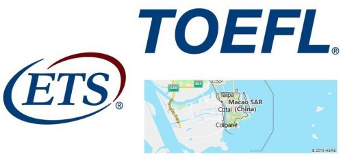 TOEFL Test Centers in Macau, China