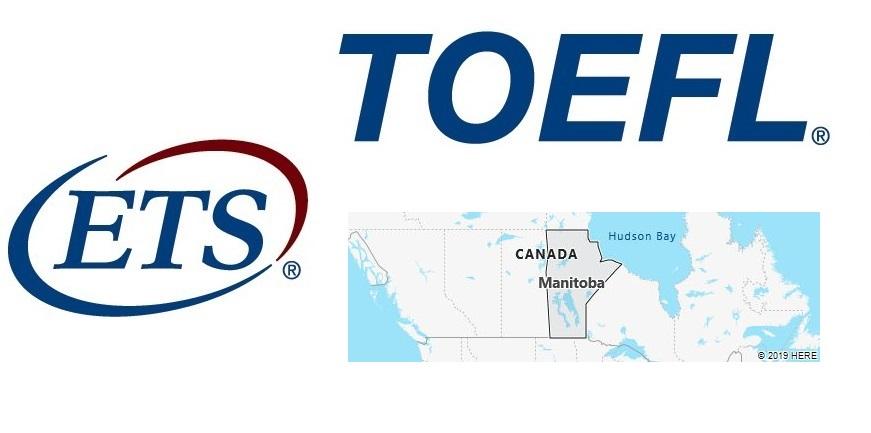 TOEFL Test Centers in Manitoba, Canada