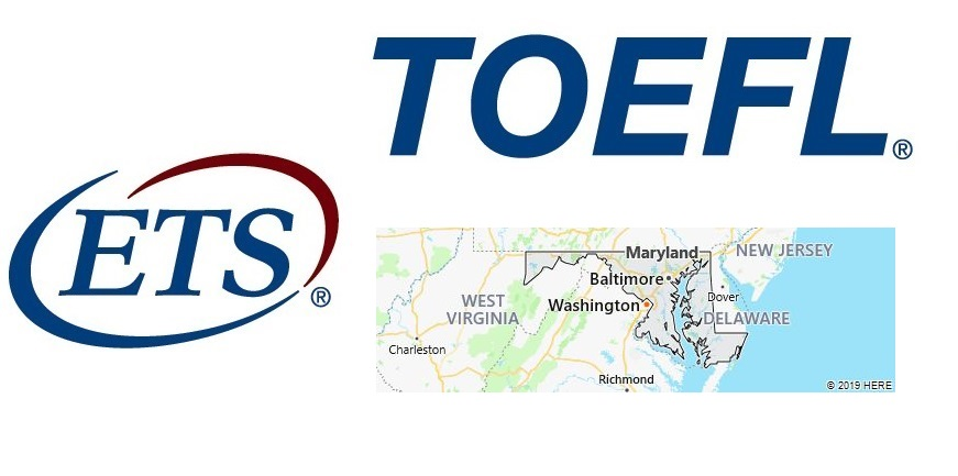 TOEFL Test Centers in Maryland, USA