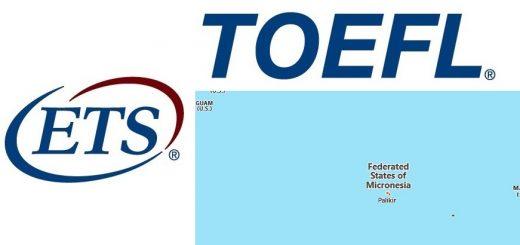 TOEFL Test Centers in Micronesia