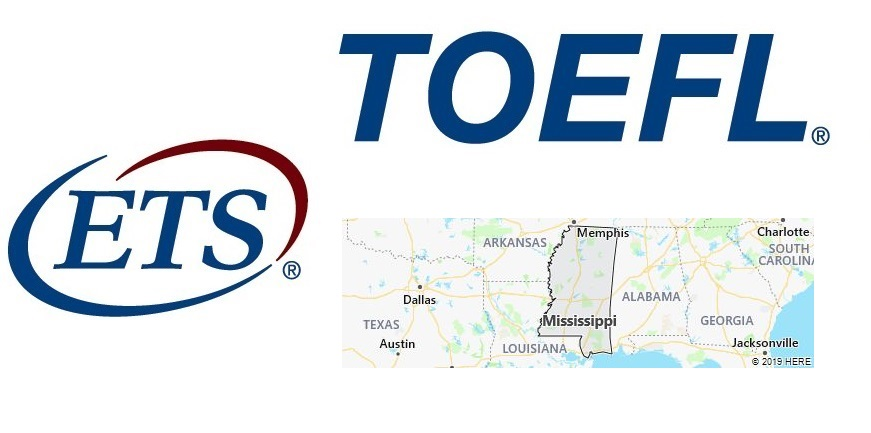 TOEFL Test Centers in Mississippi