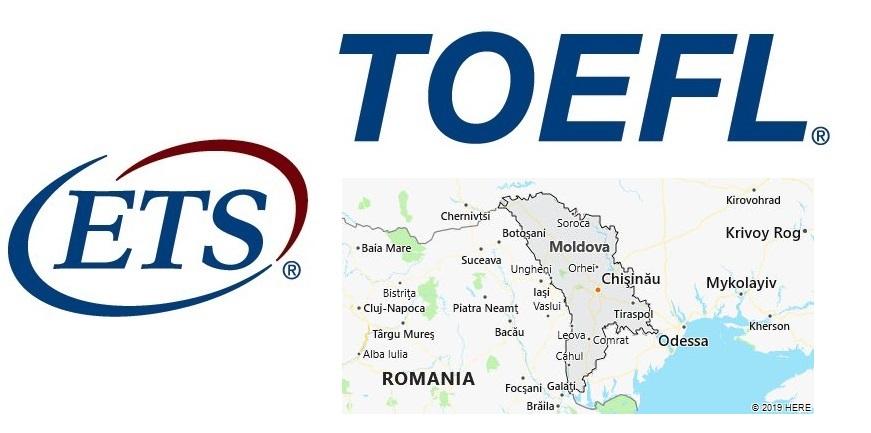 TOEFL Test Centers in Moldova