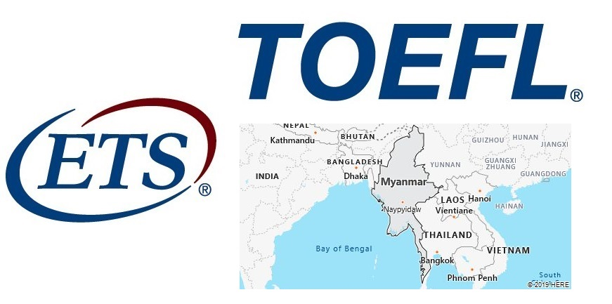 TOEFL Test Centers in Myanmar