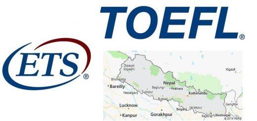 TOEFL Test Centers in Nepal
