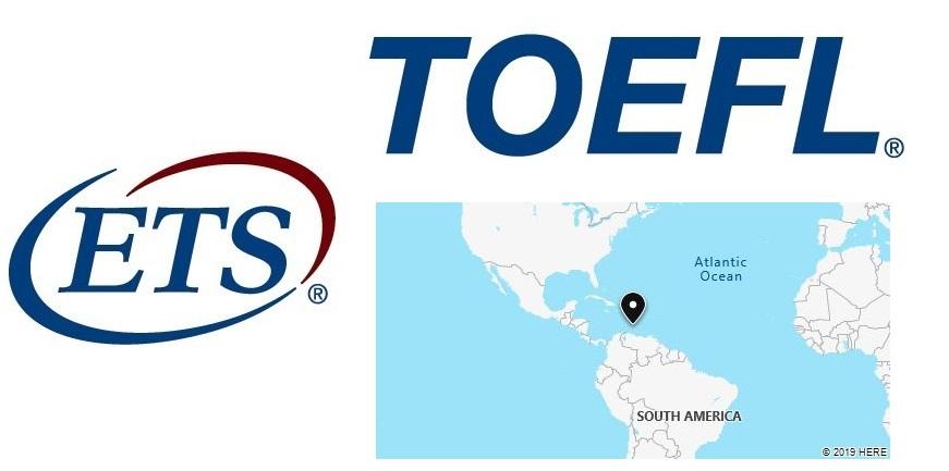 TOEFL Test Centers in Netherlands Antilles