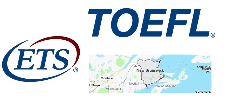 TOEFL Test Centers in New Brunswick, Canada