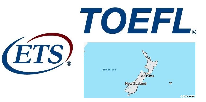 TOEFL Test Centers in New Zealand