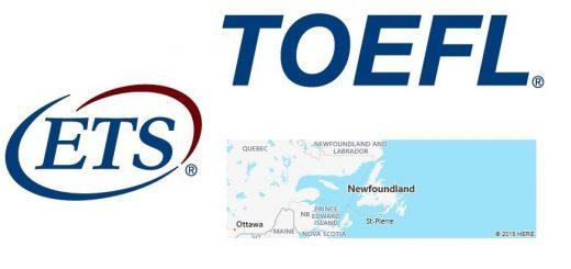 TOEFL Test Centers in Newfoundland, Canada
