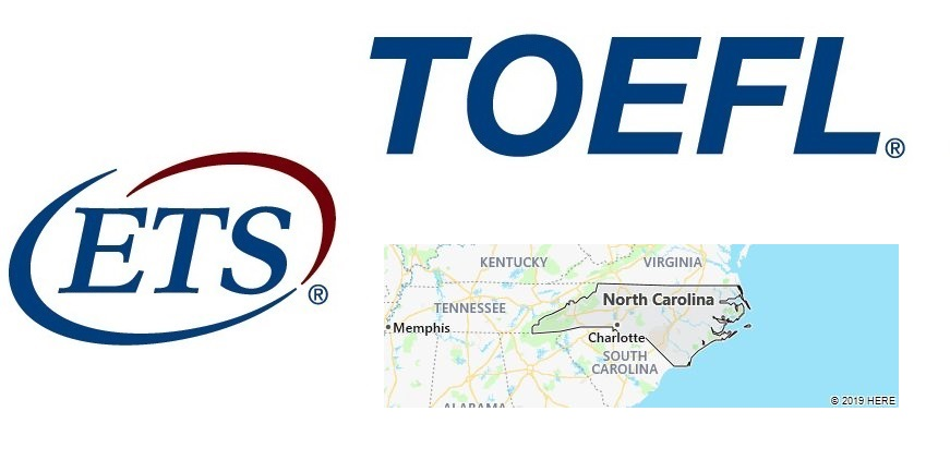 TOEFL Test Centers in North Carolina, USA