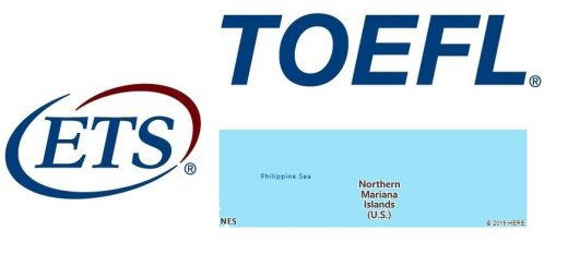 TOEFL Test Centers in Northern Mariana Islands
