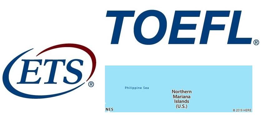 TOEFL Test Centers in Northern Mariana Islands