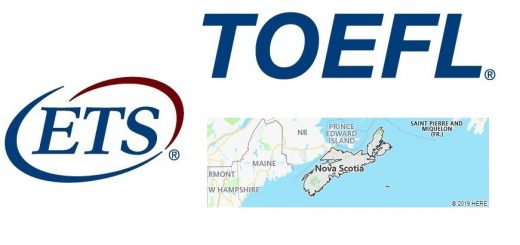 TOEFL Test Centers in Nova Scotia, Canada