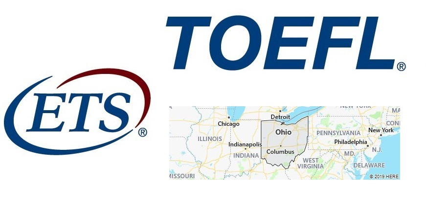 TOEFL Test Centers in Ohio, USA
