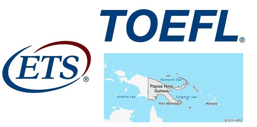 TOEFL Test Centers in Papua New Guinea