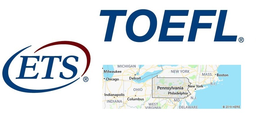 TOEFL Test Centers in Pennsylvania, USA