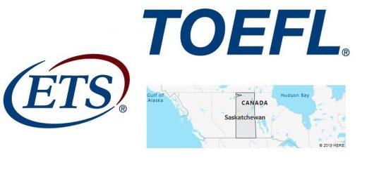 TOEFL Test Centers in Saskatchewan, Canada