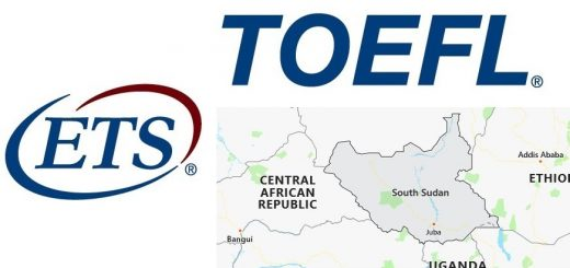 TOEFL Test Centers in South Sudan