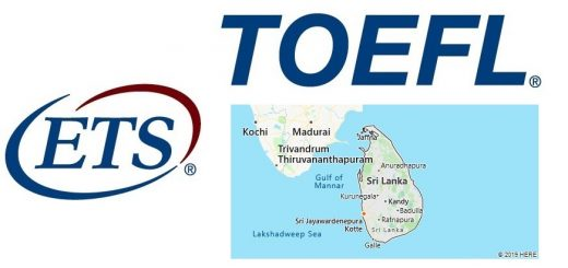 TOEFL Test Centers in Sri Lanka