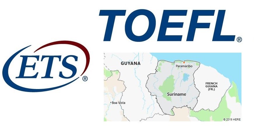 TOEFL Test Centers in Suriname